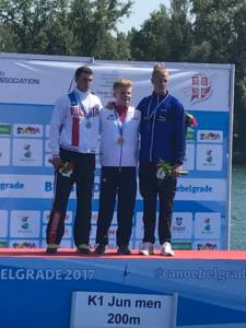 Ieuan James wins Gold at the 2017 European Championships